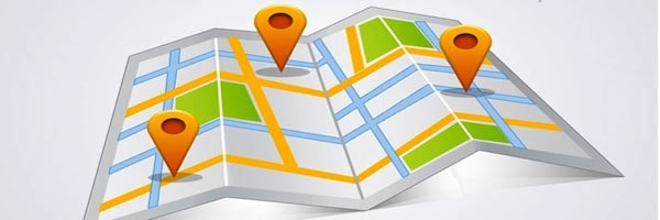 Plan du site carte
