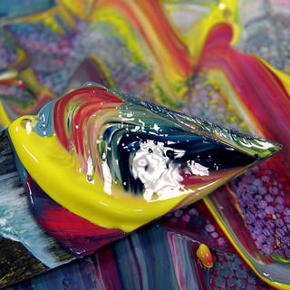 échec, couleurs, peinture, réussite,
