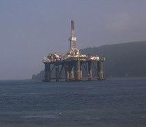 Plateforme pétrolière  Photo par A3X