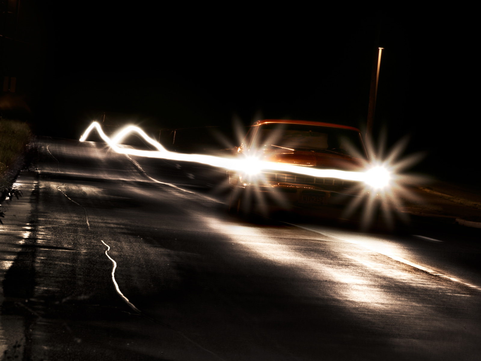 phares de voiture