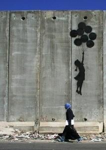 Je te quitte parce que je nous aime ! Par Wall in Palestine