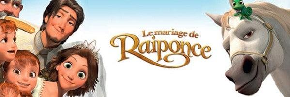 Animation le mariage de raiponce heureux dans sa vie - Le mariage de raiponse ...