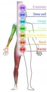 Les 7 Chakras du corps humain